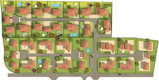 plan de masse d une maison - nos programmes groupe konstructa